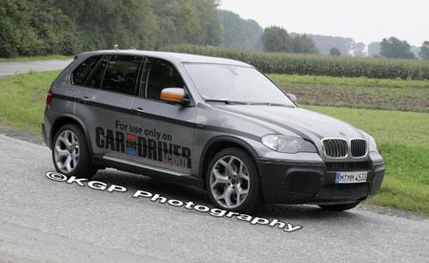 2009 BMW X5 M (spy photo) - Slide 3