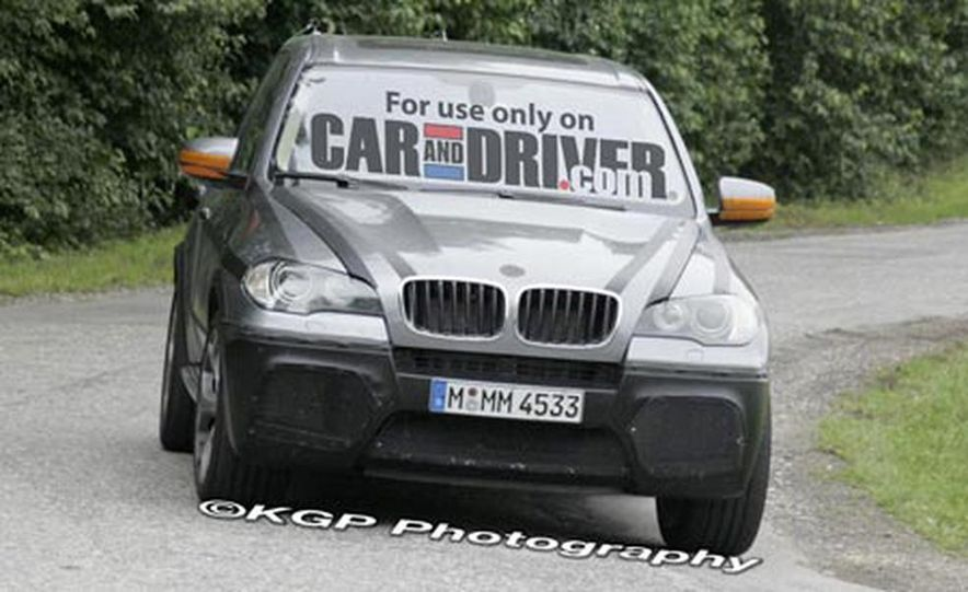 2009 BMW X5 M (spy photo) - Slide 4