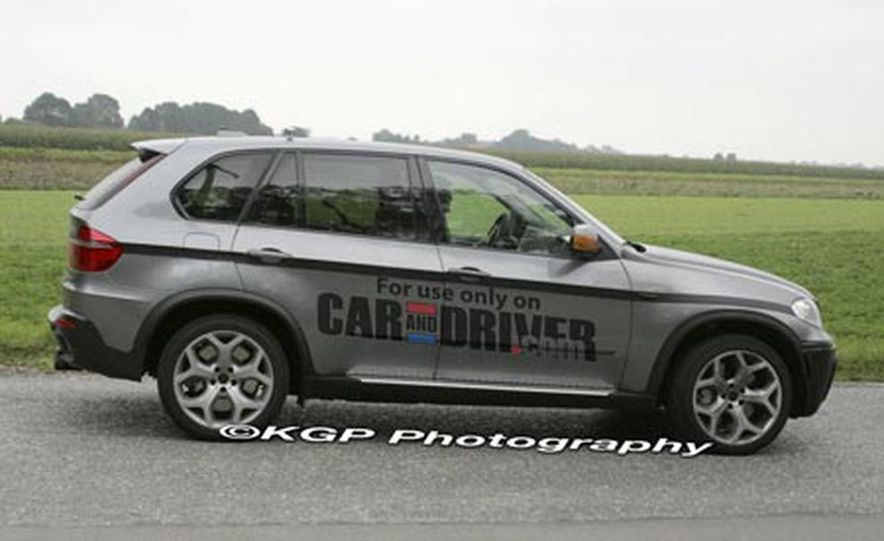 2009 BMW X5 M (spy photo) - Slide 5