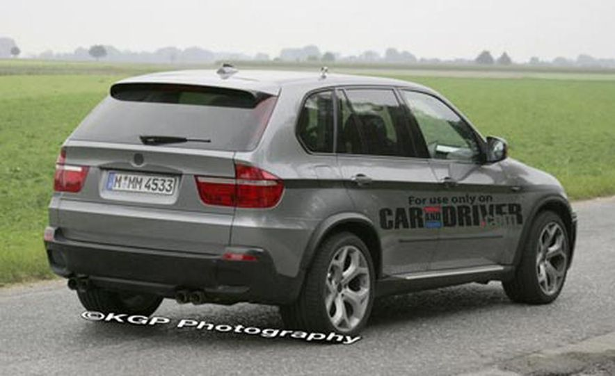 2009 BMW X5 M (spy photo) - Slide 6