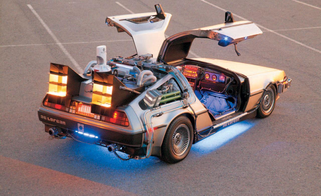 Back to the Future De Lorean Time Machine