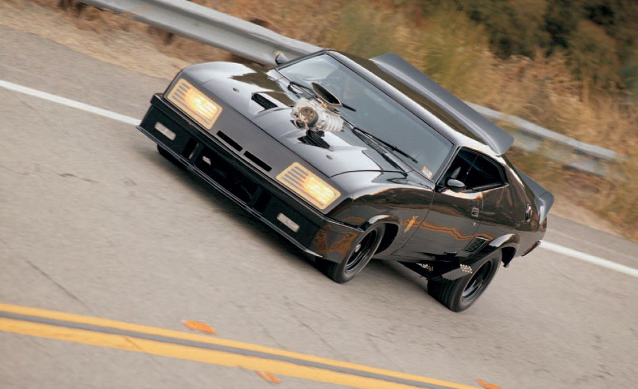 Mad Max Ford Falcon Interceptor