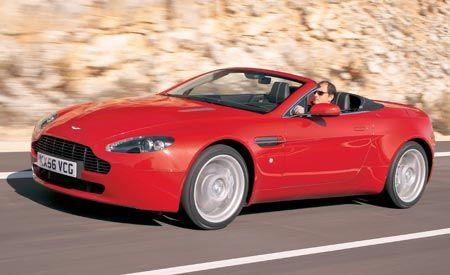 2008 Aston Martin V-8 Vantage Roadster