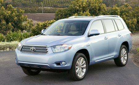 2008 Toyota Highlander Hybrid Prices Announced