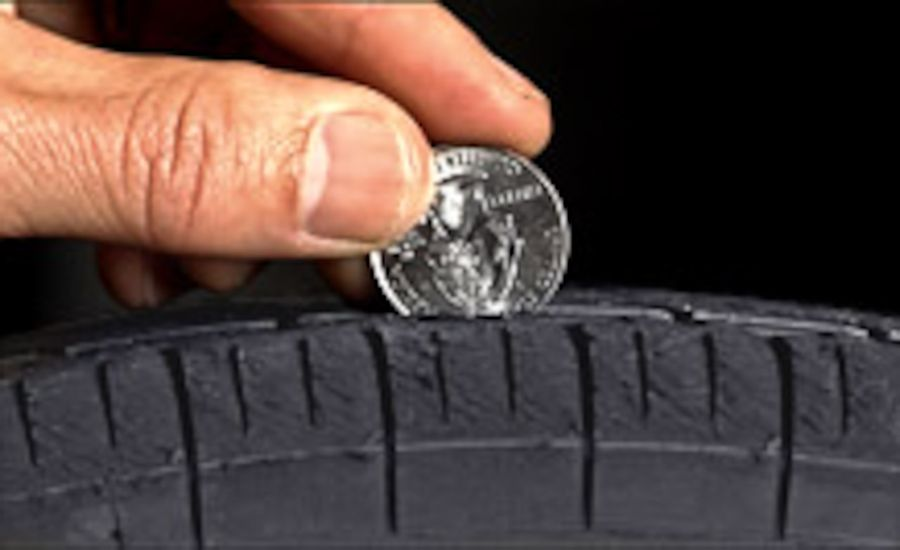 New Tire Tests Show the Quarter Is the New Penny