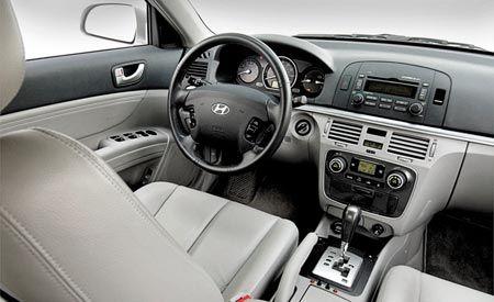 Grumblings for Hyundai sonata 2006 interior