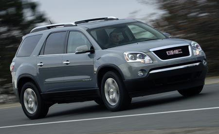 Dodge Grand Caravan SXT vs. GMC Acadia - Why Buy a Crossover?