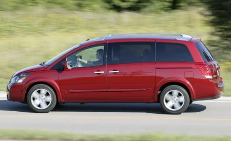 Nissan Quest SL vs. Nissan Armada - Why Buy a Crossover?