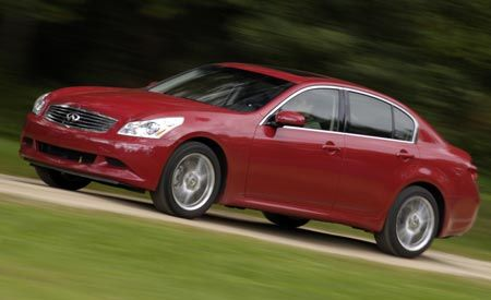 Infiniti Gx AWD Short Take Road Test Reviews Car And - Seguro de auto infinity