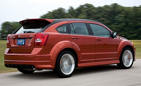 Dodge caliber reviews 2008