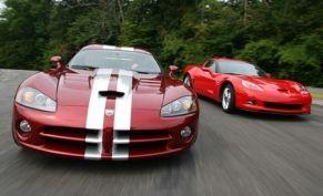 2008 Dodge Viper SRT10 vs. 2007 Chevrolet Corvette Z06