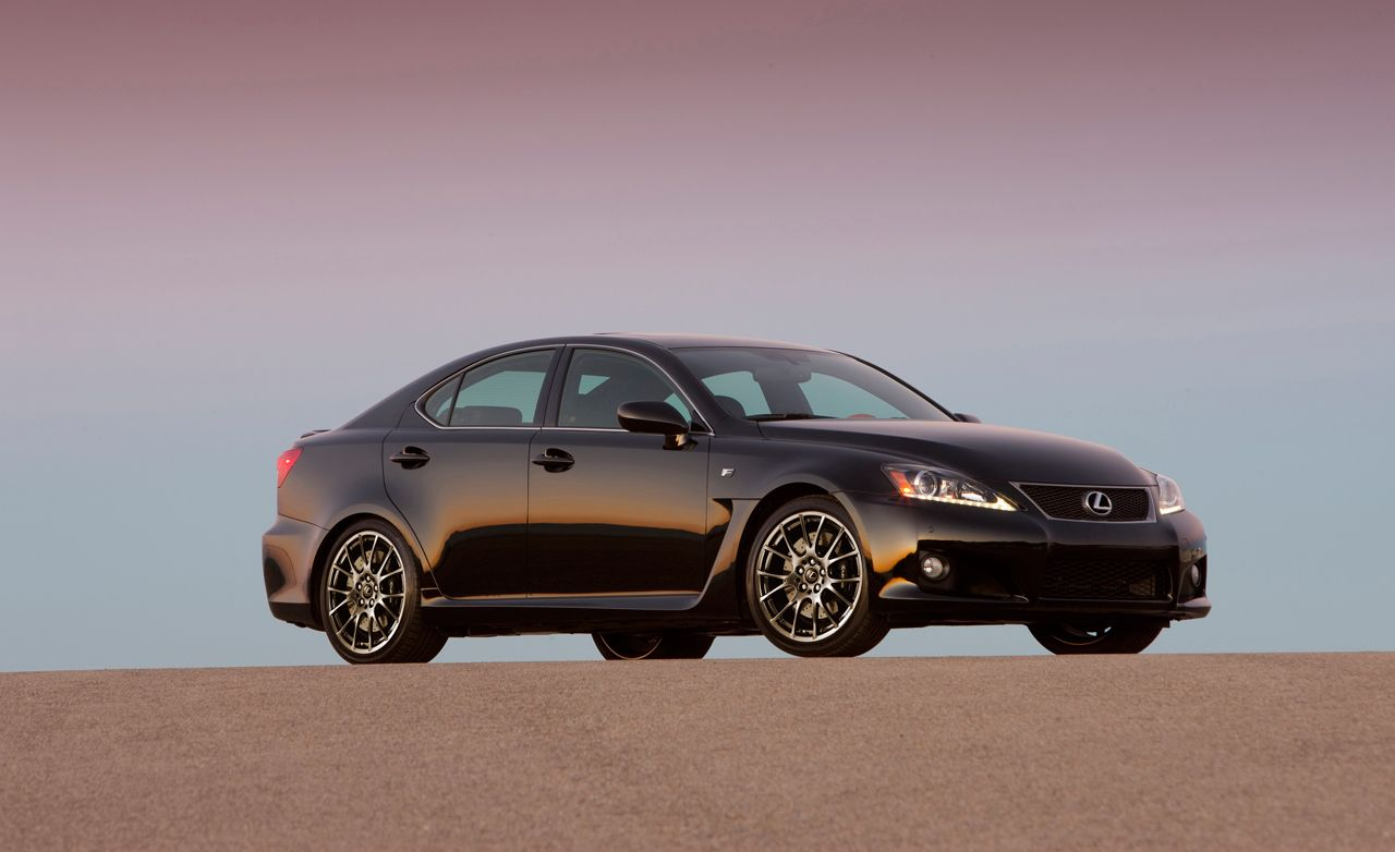 2008 lexus is f – instrumented test – car and driver