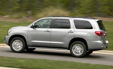 2008 Toyota Sequoia Platinum 4WD