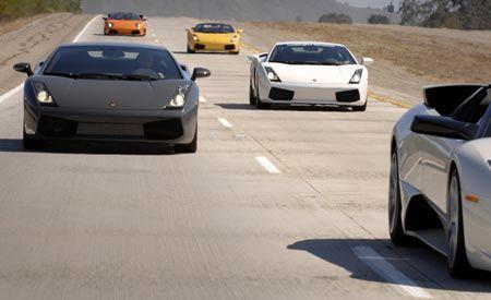 Giro Lamborghini 2007