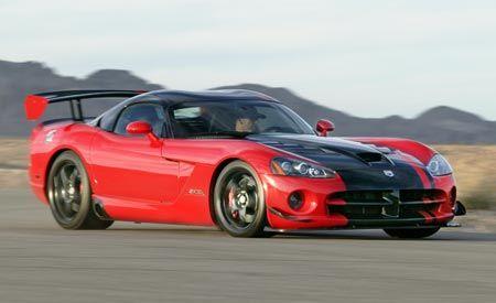 2008 dodge viper horsepower