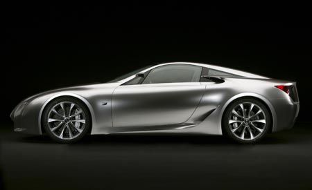 Lexus LF-A and LF-Xh Concepts