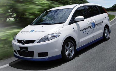 Mazda Premacy Hydrogen RE Hybrid and Future Powertrains