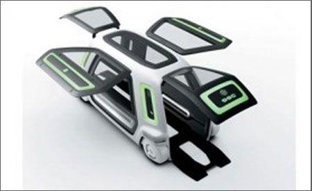 Suzuki Sustainable Mobility PIXY plus SSC Concept