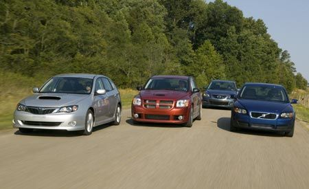 2007 Mazdaspeed 3 vs. 2008 Subaru Impreza WRX, 2008 Volvo C30 T5