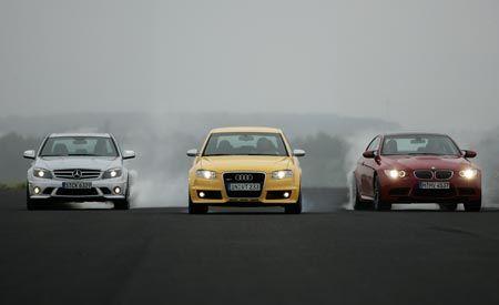 2008 BMW M3 vs. 2007 Audi RS 4, 2008 M-B C63 AMG