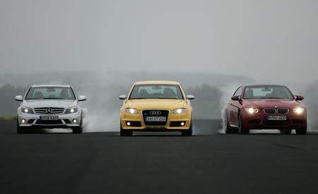 2008 BMW M3 vs. 2007 Audi RS 4, 2008 M-B C63 AMG
