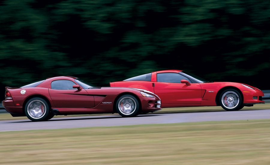 2008 Dodge Viper SRT10 vs. 2007 Chevrolet Corvette Z06