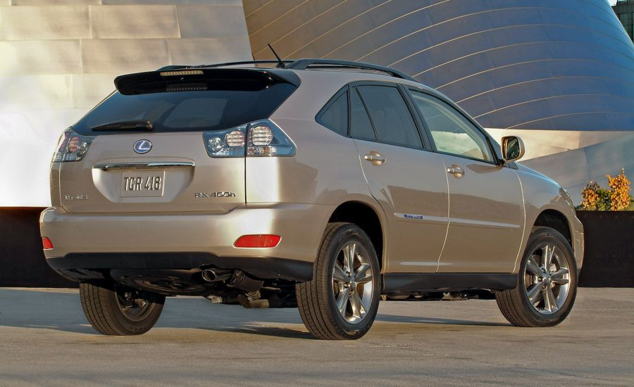 2008 Lexus RX350 and RX400h