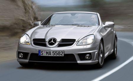 2009 Mercedes-Benz SLK350 and SLK55 AMG