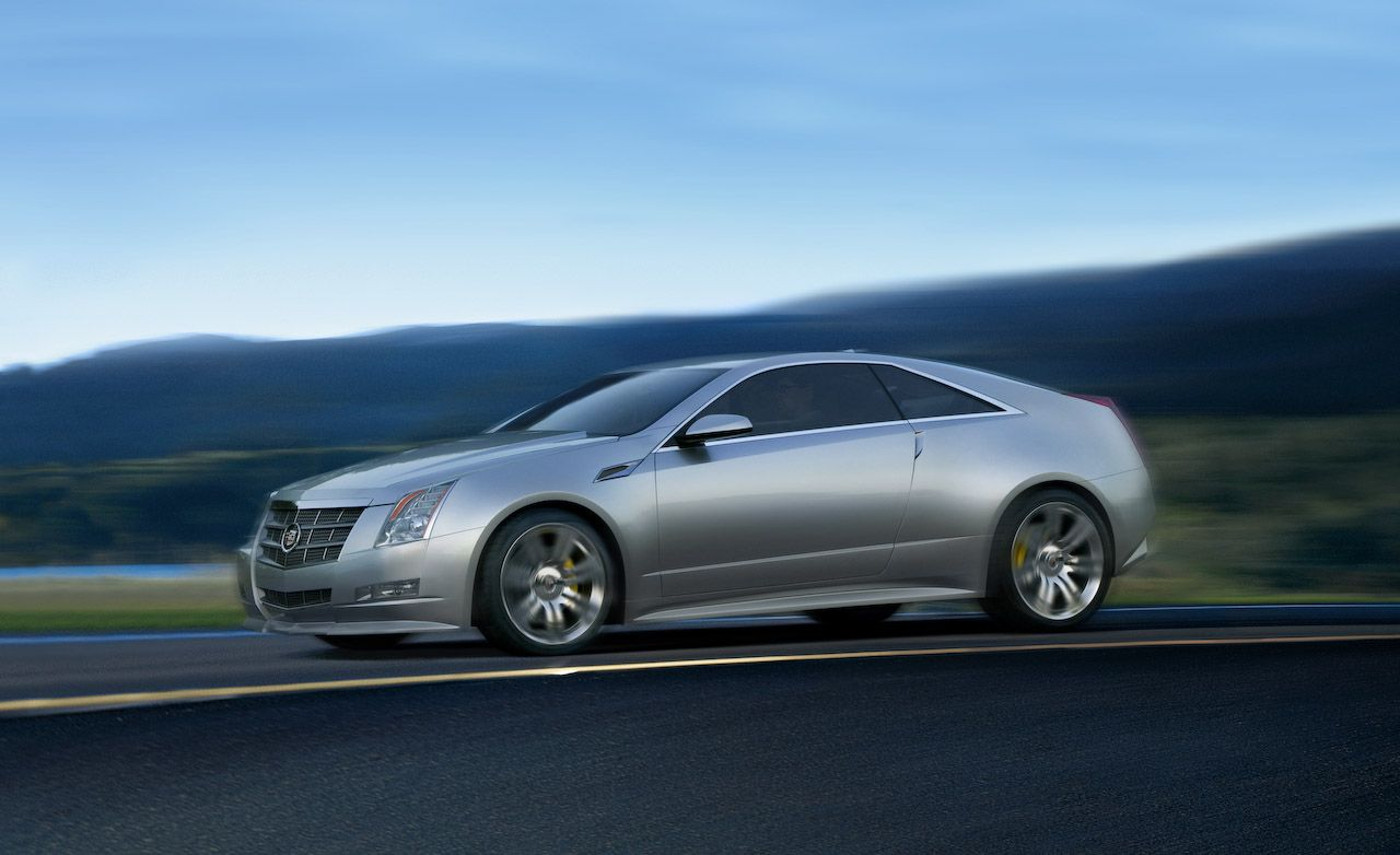 2010 Cadillac CTS Coupe