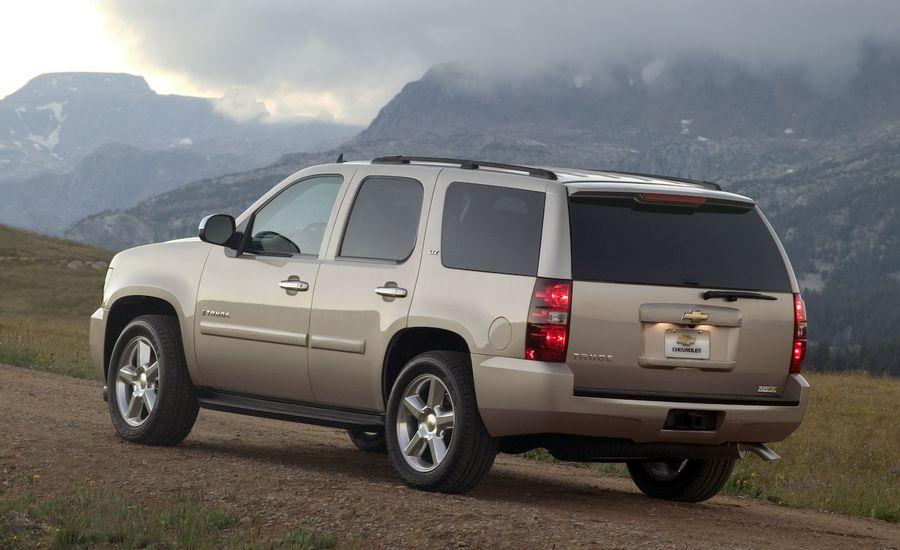 2008 Chevrolet Tahoe and Tahoe Hybrid