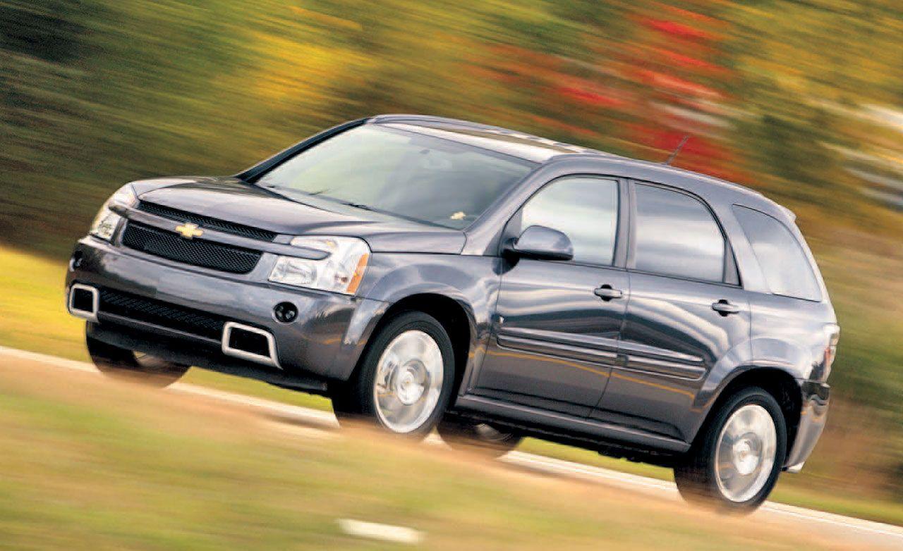 Equinox 2008 chevy equinox : 2008 Chevrolet Equinox Sport AWD | Short Take Road Test | Reviews ...