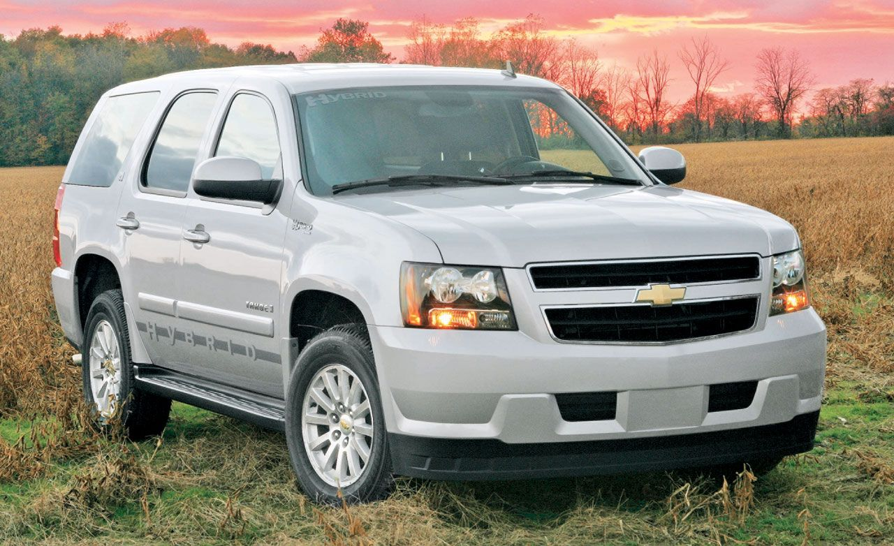 2008 Chevrolet Tahoe Hybrid  Road Test  Reviews  Car and Driver