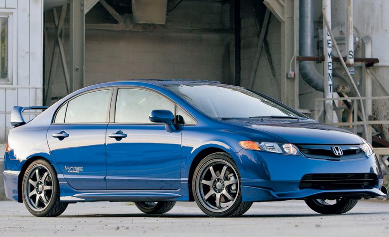 2008 honda civic mugen si sedan instrumented test. Black Bedroom Furniture Sets. Home Design Ideas