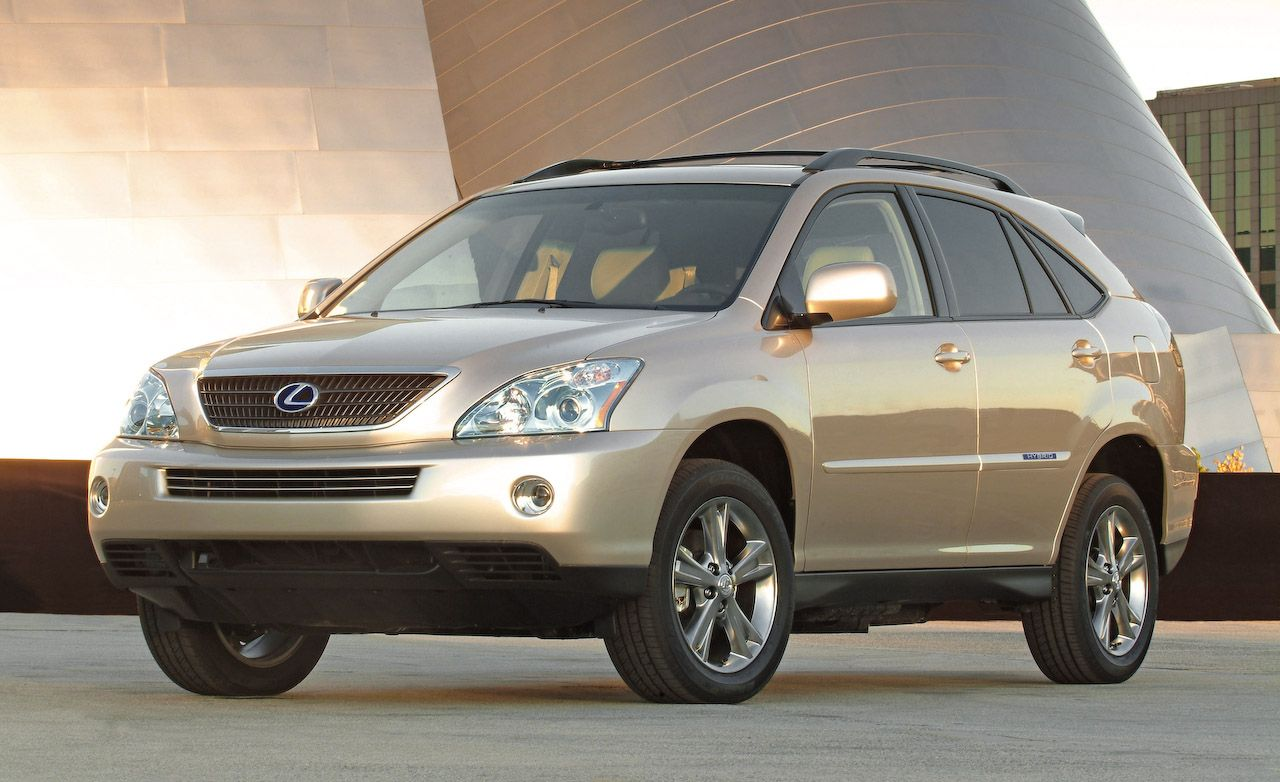 2008 lexus rx350 and rx400h | review | reviews | car and driver