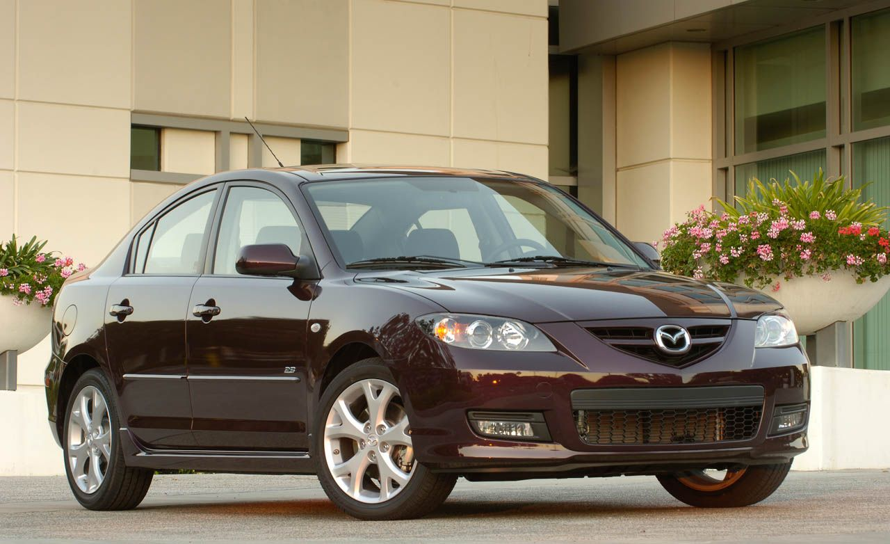 2008 Mazda 3 and Mazdaspeed 3