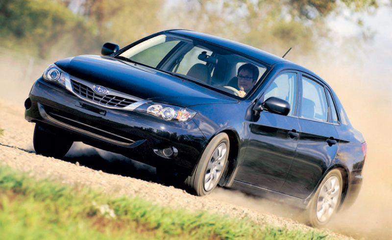 2008 Subaru Impreza 2.5i Sedan
