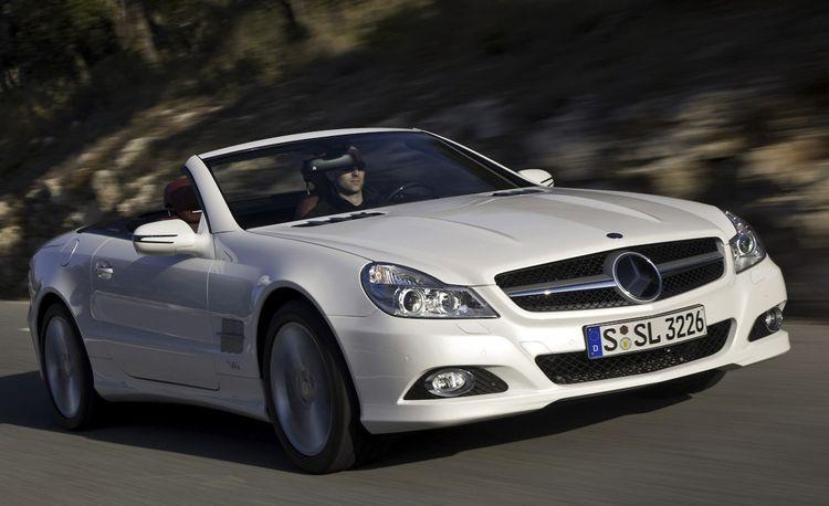 2009 Mercedes-Benz SL550 and SL600