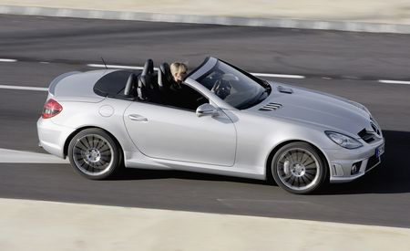 2009 Mercedes-Benz SLK350 and SLK55 AMG
