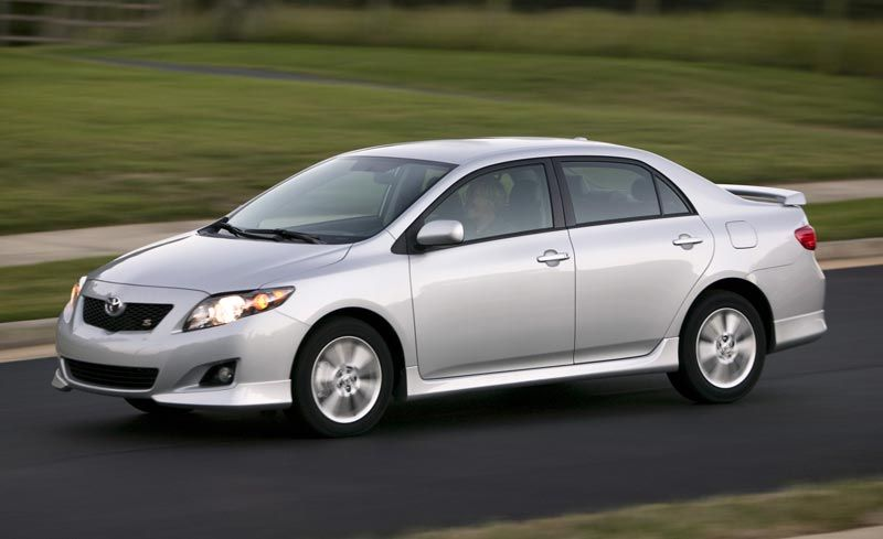 2009 Toyota Corolla First Drive Review Reviews Car