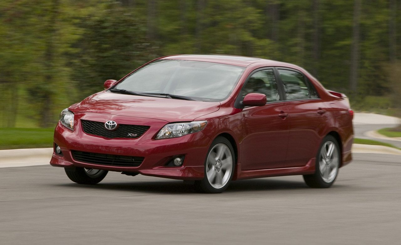 Toyota Build And Price >> 2009 Toyota Corolla XRS Road Test | Review | Car and Driver