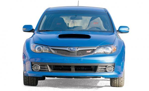 2008 Subaru WRX STI on Ice