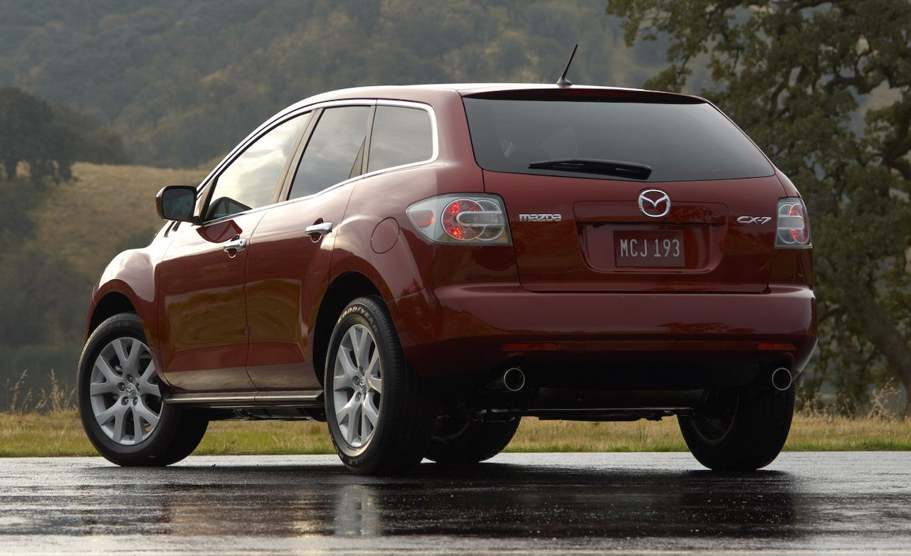mazda cx-7 reviews - mazda cx-7 price, photos, and specs - car and