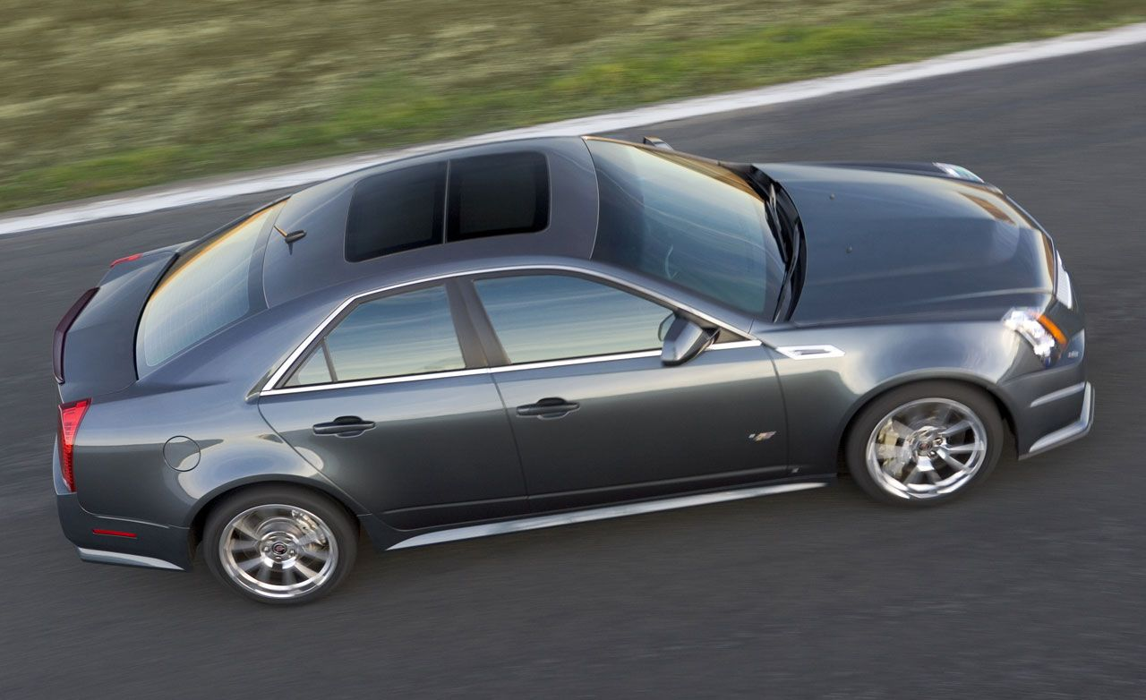Competitors in the Crosshairs: 2009 Cadillac CTS-V