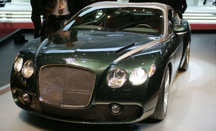 2009 Bentley Zagato GTZ