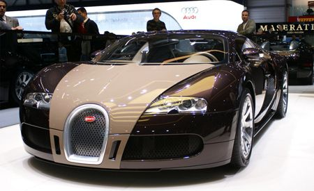 2009 Bugatti Veyron Fbg Par Herm 232 S
