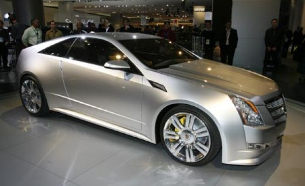 2009 Cadillac CTS-V and CTS Coupe Concept