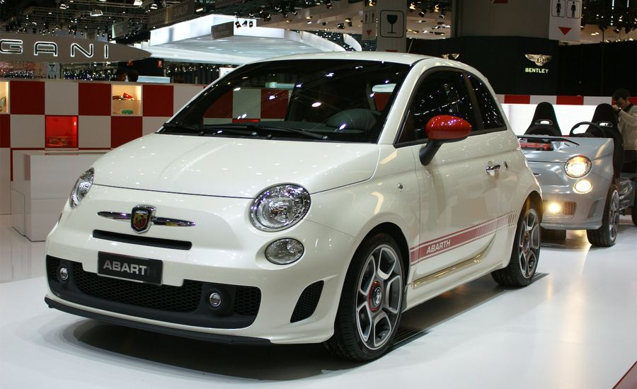 2009 Fiat 500 Abarth and 500 Aria Concept