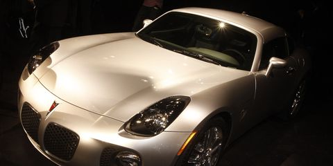 2009 pontiac solstice coupe hardtop