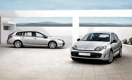 2009 Renault Laguna GT Sedan and Wagon