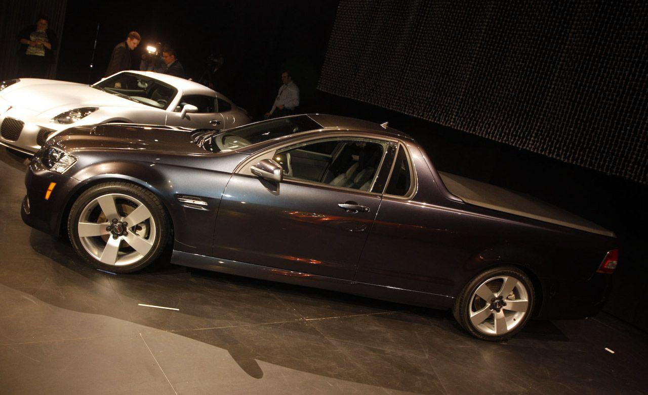 Bugatti For Sale >> 2010 Pontiac G8 Sport Truck